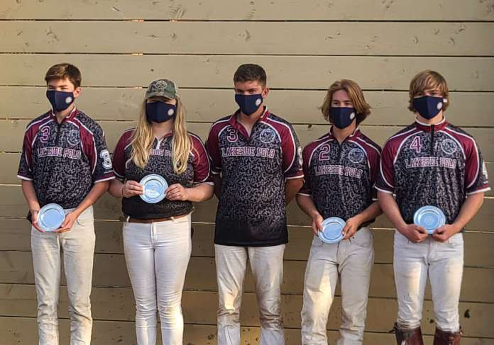 Pacific Coast Circuit I/I Club Challenge Cup Champions: Lakeside Varsity- Oliver Wheatley, Kylie Kufahl, Ethan Bankhead, Trent Wakefield, Troy Wakefield.