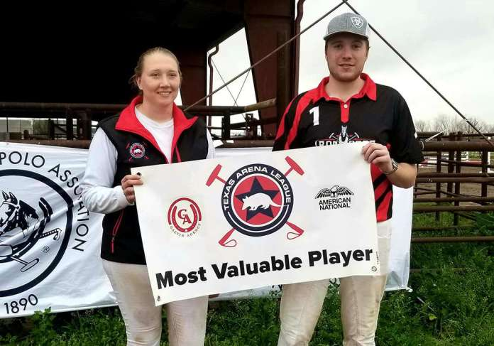Galvin Agency/American National Most Valuable Player James Glew.