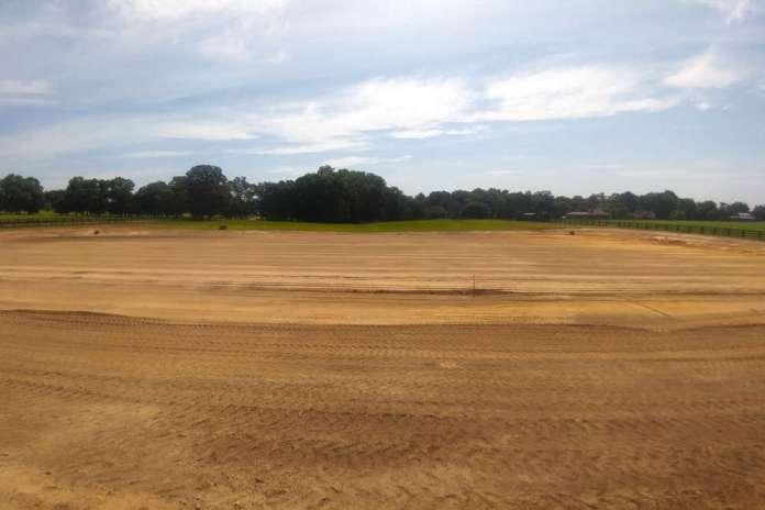 New Bridge arena constructions site.