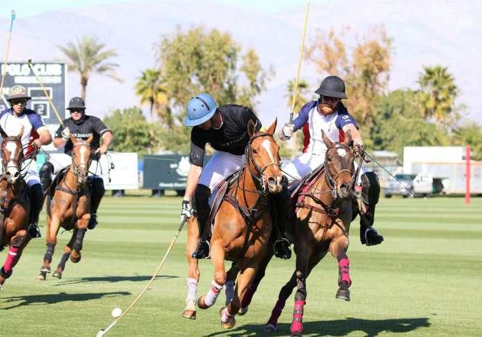 Tournament action at Eldorado Polo Club!