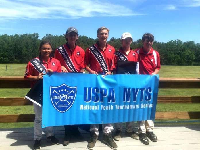 St. Louis Polo Club NYTS Qualifier Winners: Prestonwood - (L to R) Jasmine Gallegos, Will Smith, Vance Miller III, David Werntz, Zachary Wallace.
