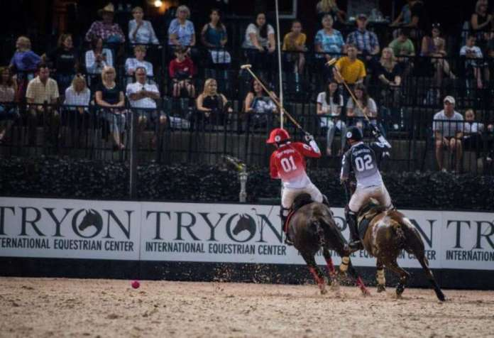 """The next installment of Gladiator Polo™ presented by Coca-Cola® is set for Saturday, June 16, and will feature the """"Battle for North Carolina"""" at 8:00 p.m. EST."""