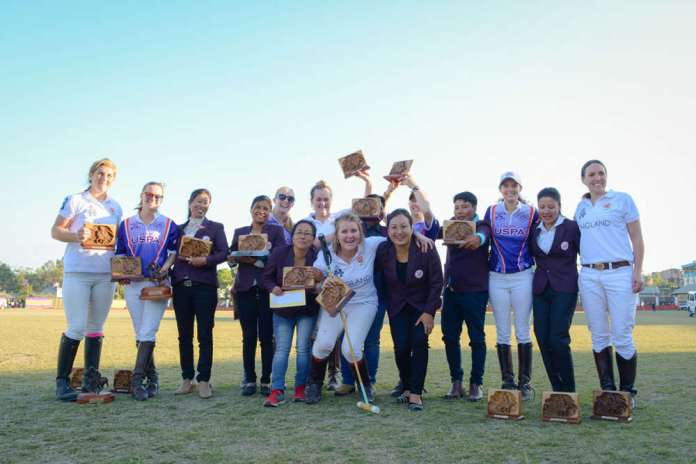 2017 Team USPA Women and Team HPA UK Team in Manipur. ©Manipur Tourism.