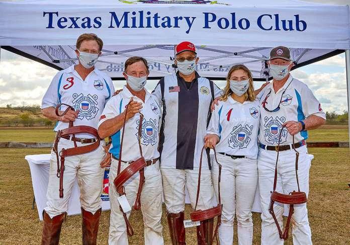 Teddy Roosevelt Champions- Coast Guard - Tom Crea, David Crea, Karl Hilberg (presenter), Minerva Lemesoff, and Jack Crea.
