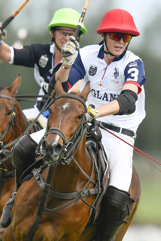 English player during the 2017 XI FIP World Polo Championship.