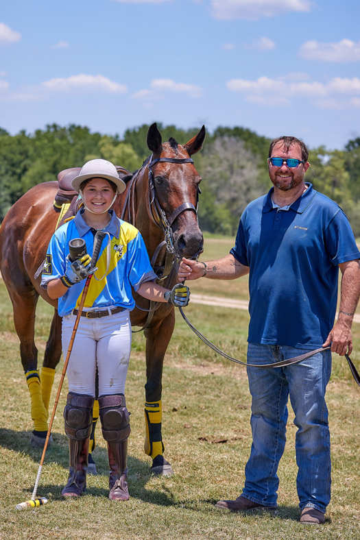 Best Playing Pony was awarded to Torcasa, ridden by Dani Gibson and owned by Shawn Gibson.