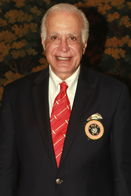 Dr. Richard Caleel, the sixth President of the Federation of International Polo.