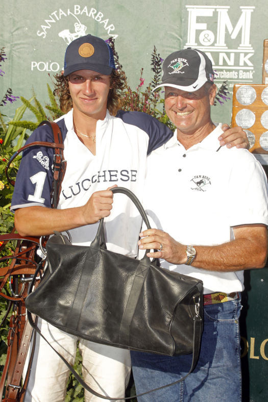 Most Valuable Player Nico Escobar pictured with USPA Pacific Coast Circuit Governor Danny Walker.