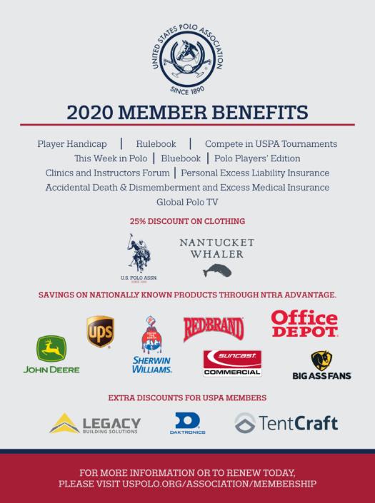 2020 member benefits