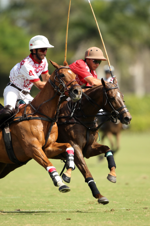 Felipe Vercellino has excelled competing alongside the top players in the GAUNTLET OF POLO®. ©David Lominska