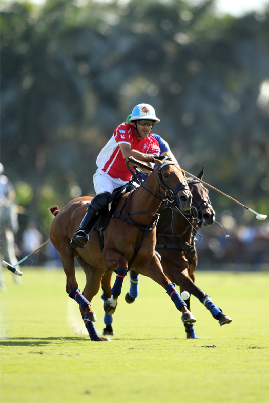 Scone's Adolfo Cambiaso in the C.V. Whitney Cup® final against Park Place.
