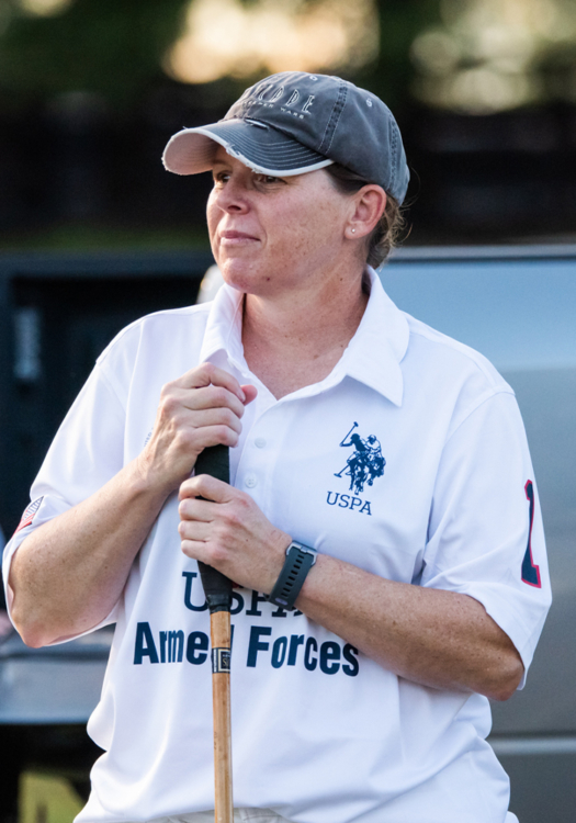 U.S. Navy Reserve, Major Cindy Stephenson.