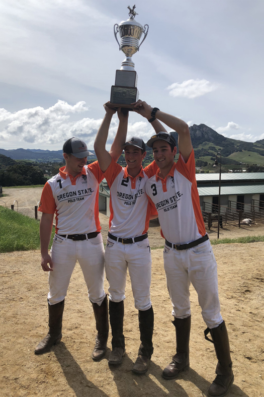 Oregon State team (L to R) Andrew Hobson, Wyatt Weaver, Joel Potyk. ©Essence Captured - Lori Sortino