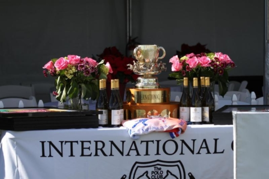 International Cup Trophy. ©ChukkerTV.