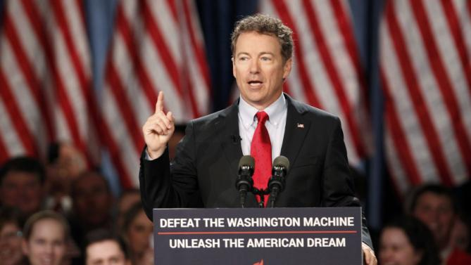 Where Rand Pauls Small Government Credo >> Rand Paul I M Running For President In 2016 Video Added