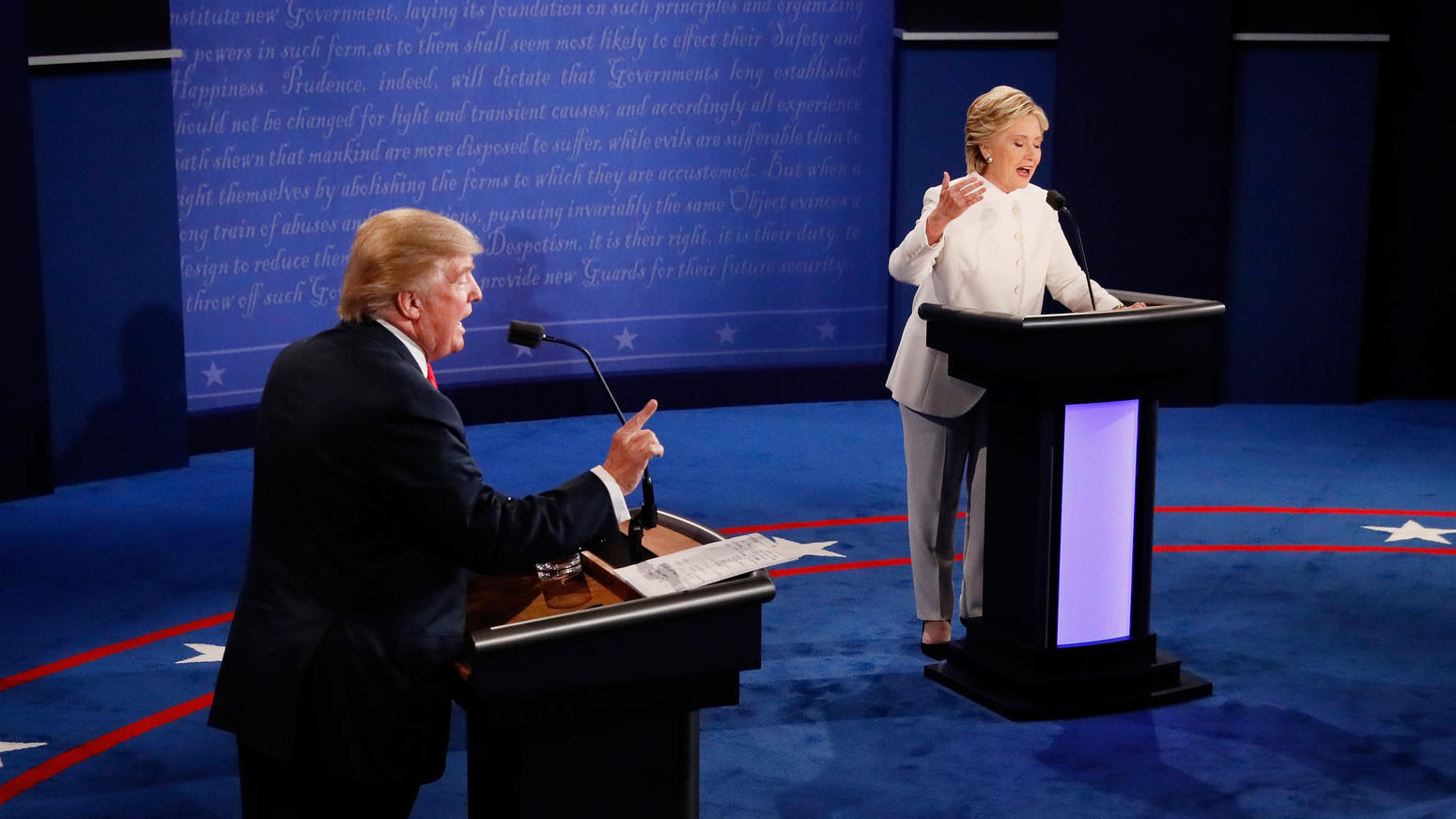 Full Video: Watch the Second Trump/Clinton Debate ...