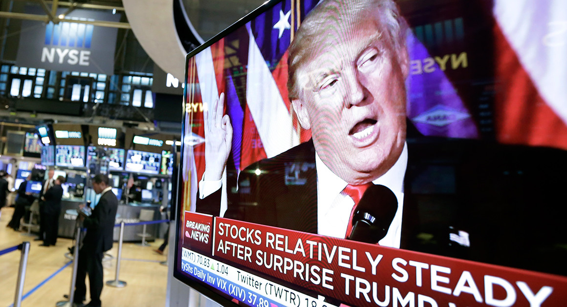 Stock Market Soars While Trump Approval Craters
