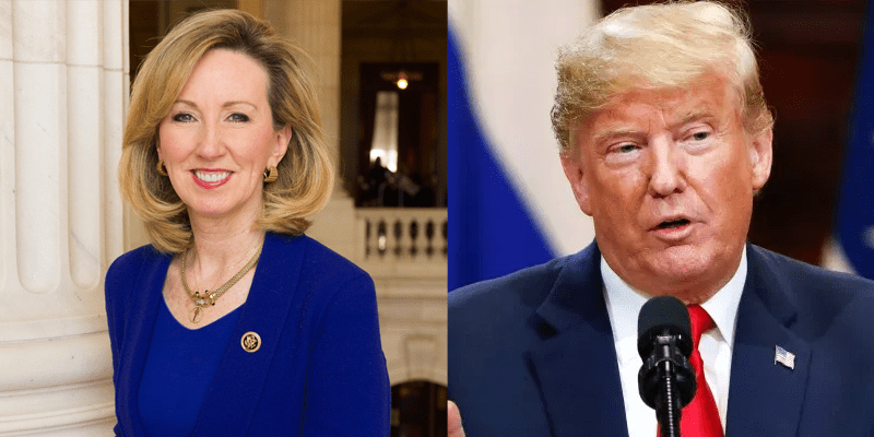 Donald Trump Barbara Comstock
