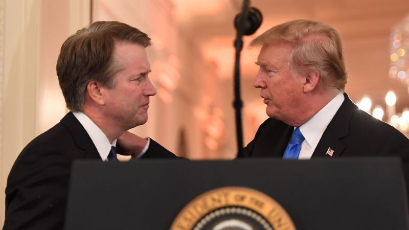 Will Trump Pull Kavanaugh Before Monday?