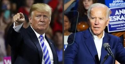 Trump Biden Midterm Rally 2018