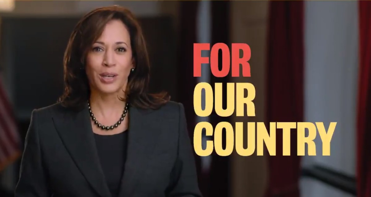 Kamala Harris Officially Running for President