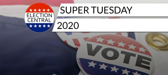 Super Tuesday 2020 Voting