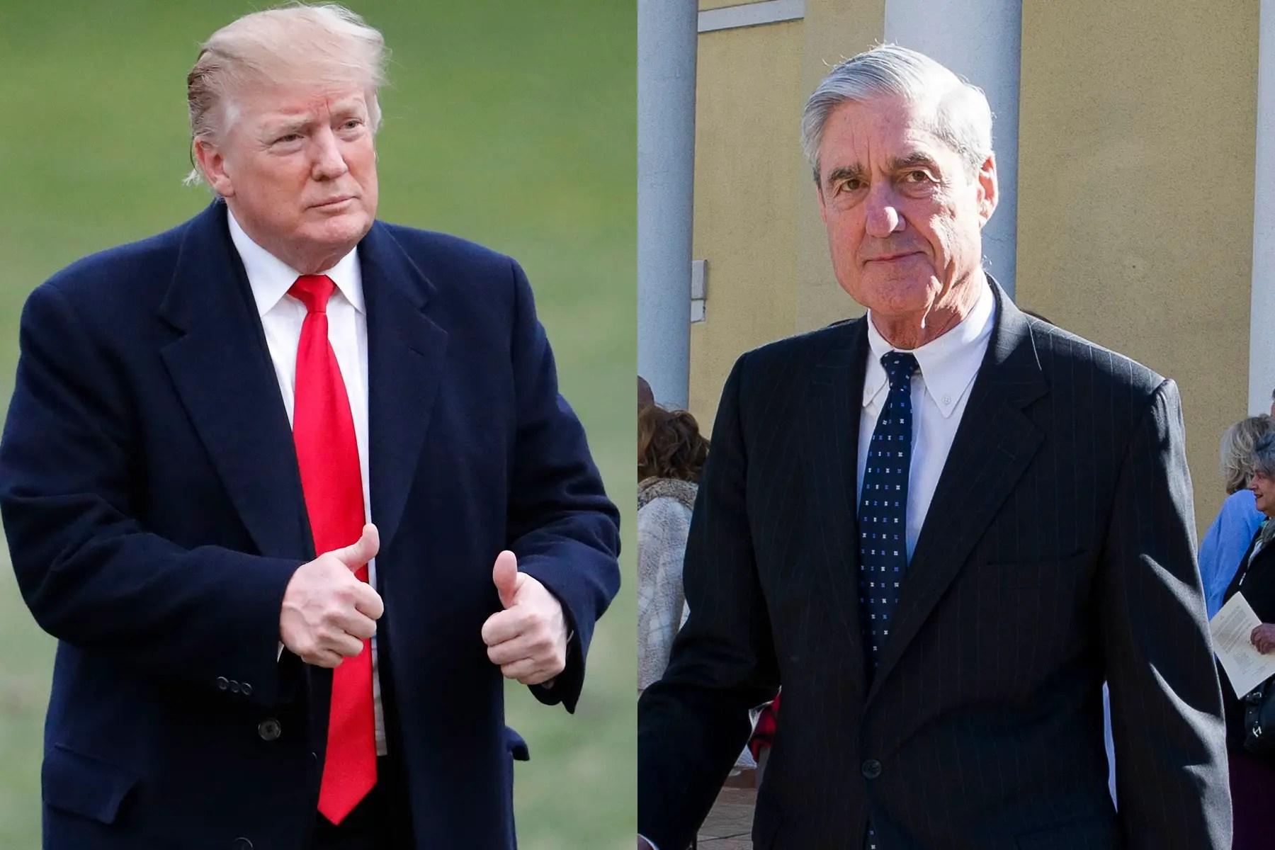 Trump Mueller 2020 Campaign