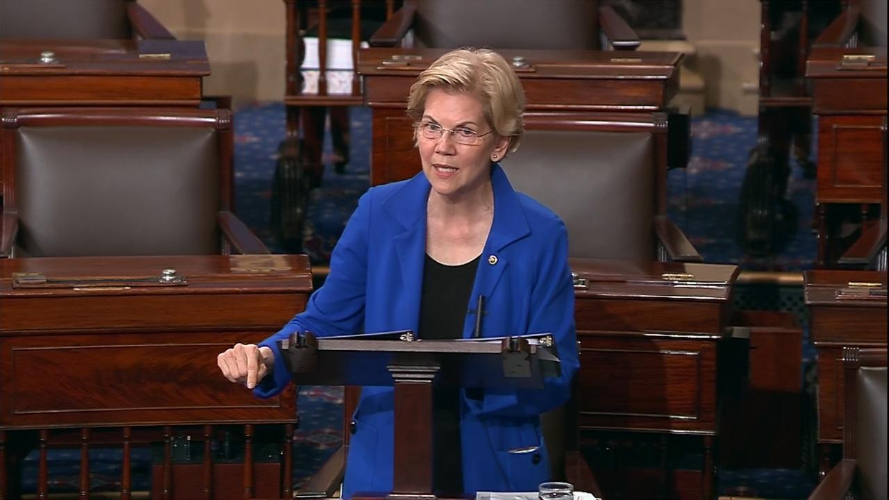 Elizabeth Warren Trump Impeachment