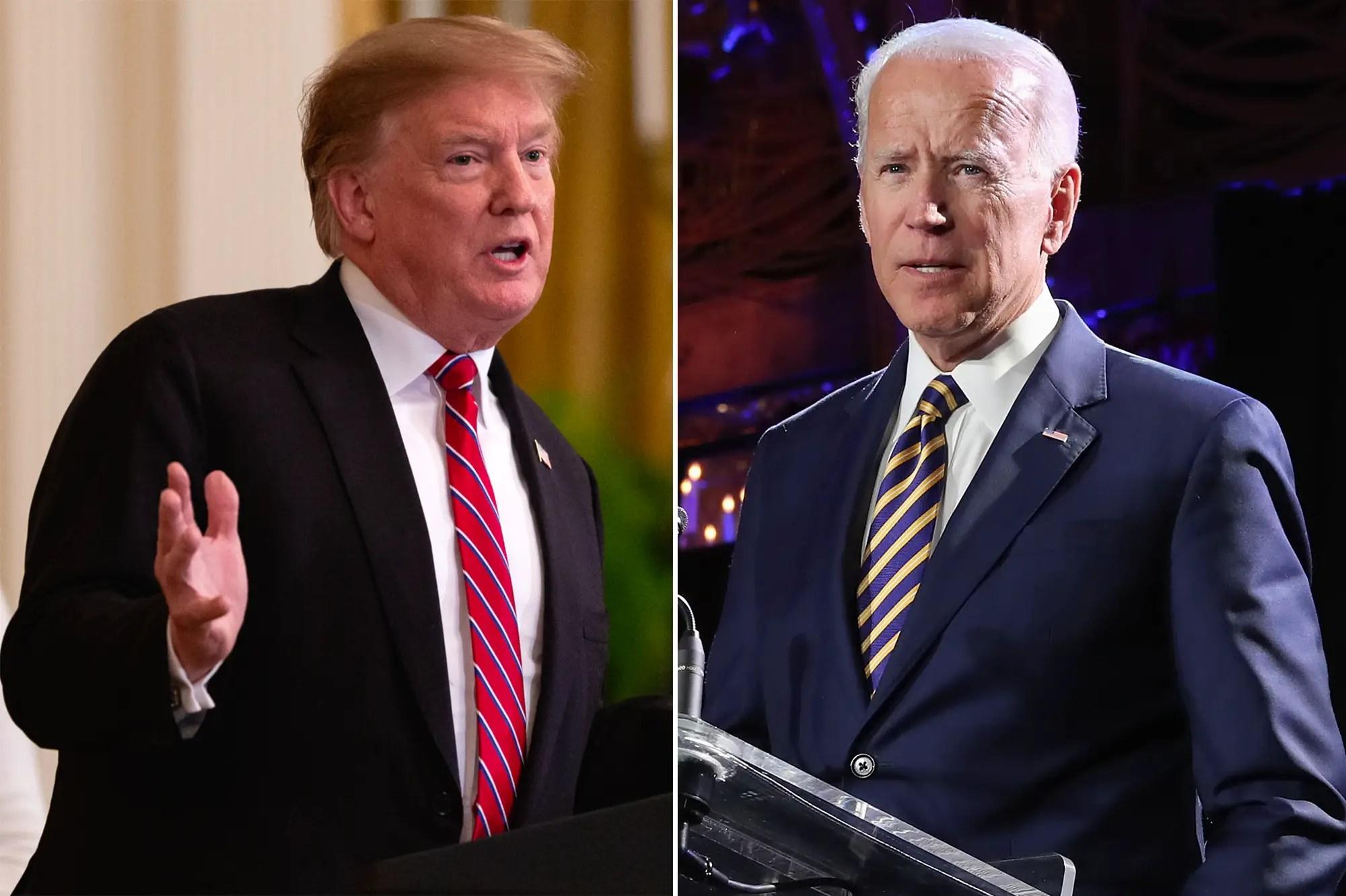 Donald Trump Joe Biden attack 2020