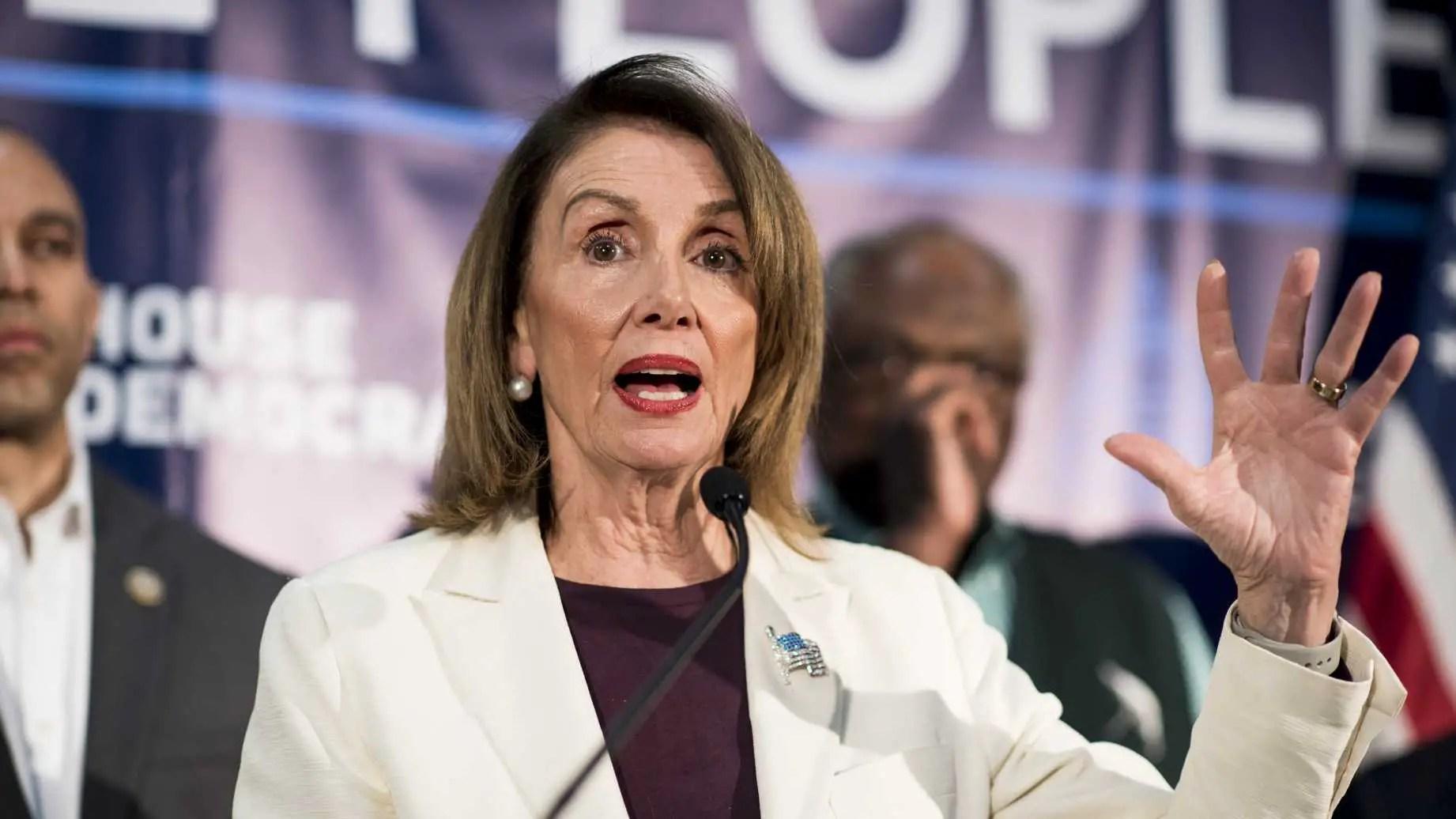 Nancy Pelosi Democrats moderate 2020