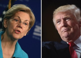 Donald Trump Elizabeth Warren impeachment
