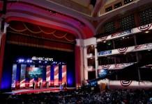 First NBC Democratic Debate Lineup