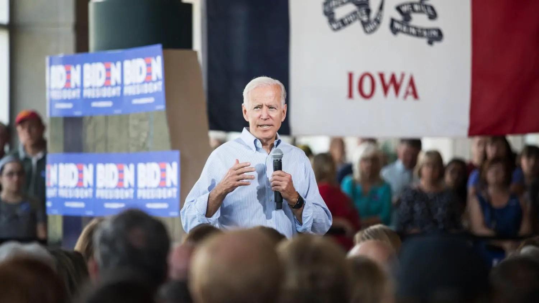 Biden Iowa 2020