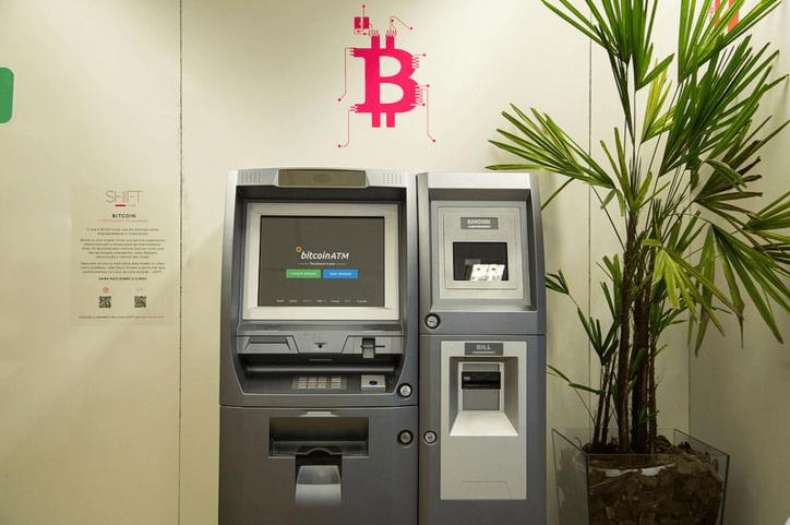 Latinoamerica con ATM de Bitcoin