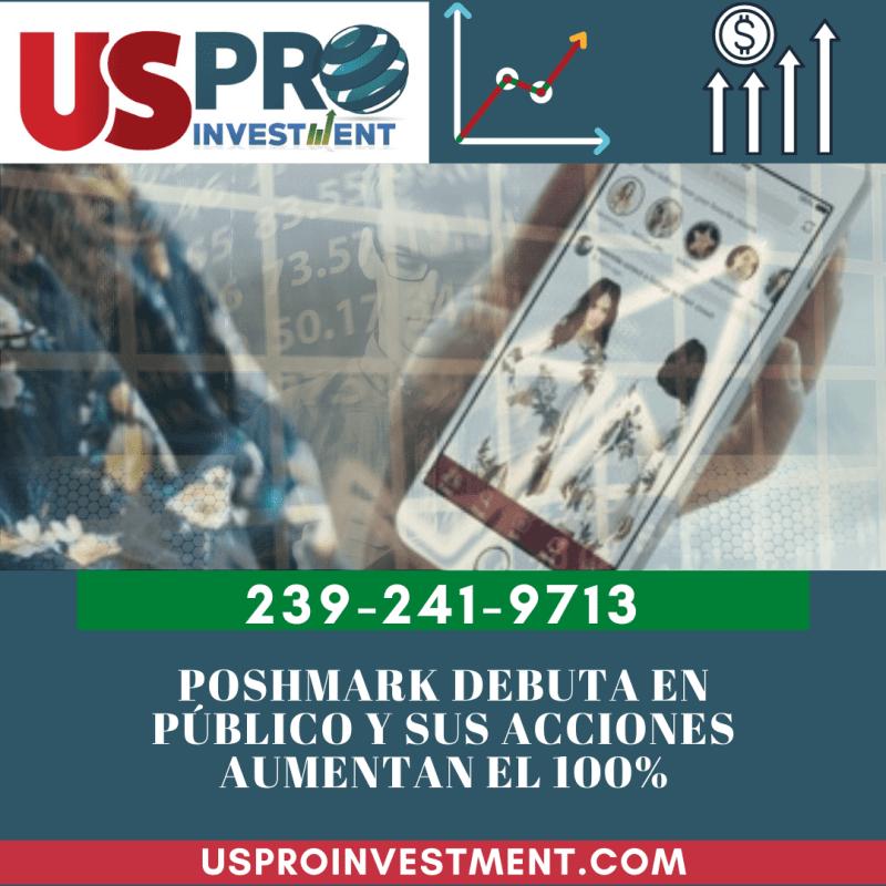 Poshmark debuta en público y sus acciones aumentan el 100%
