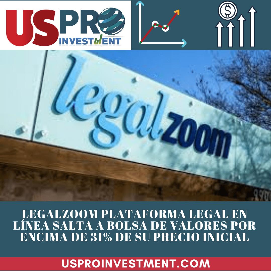 Us Pro All Investment LegalZoom plataforma legal en línea salta a Bolsa de Valores saltando