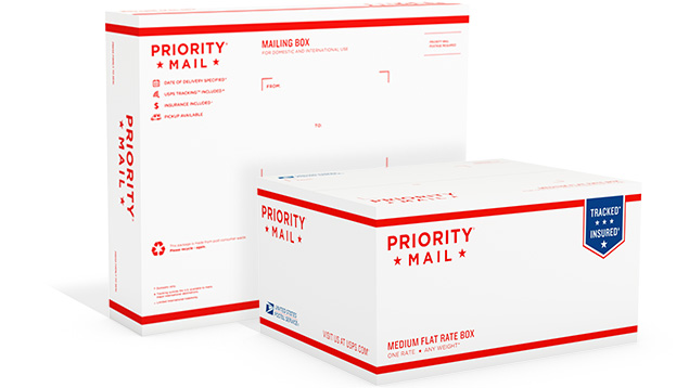 Priority Mail Shipping Boxes