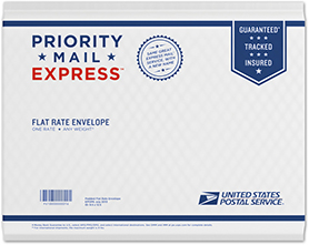 Priority Mail Express Padded Flat Rate Envelope