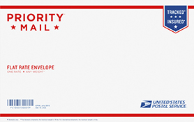 Priority Mail Legal Flat Rate Envelope