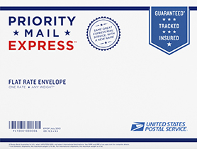 Priority Mail Express Flat Rate Envelope
