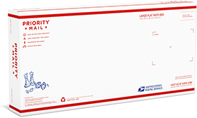 Priority Mail Large Flat Rate Board Game Box