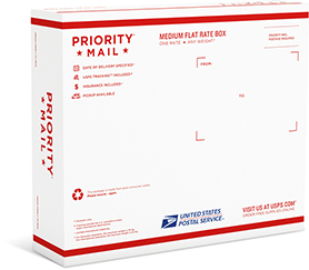 Priority Mail Medium Flat Rate Box - 2