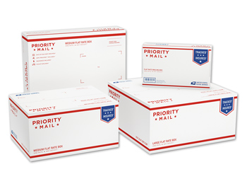 Priority Mail Flat Rate Boxes Variety Pack