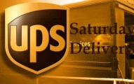 UPS Saturday Delivery