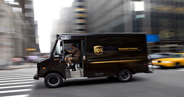 UPS Follow my delivery
