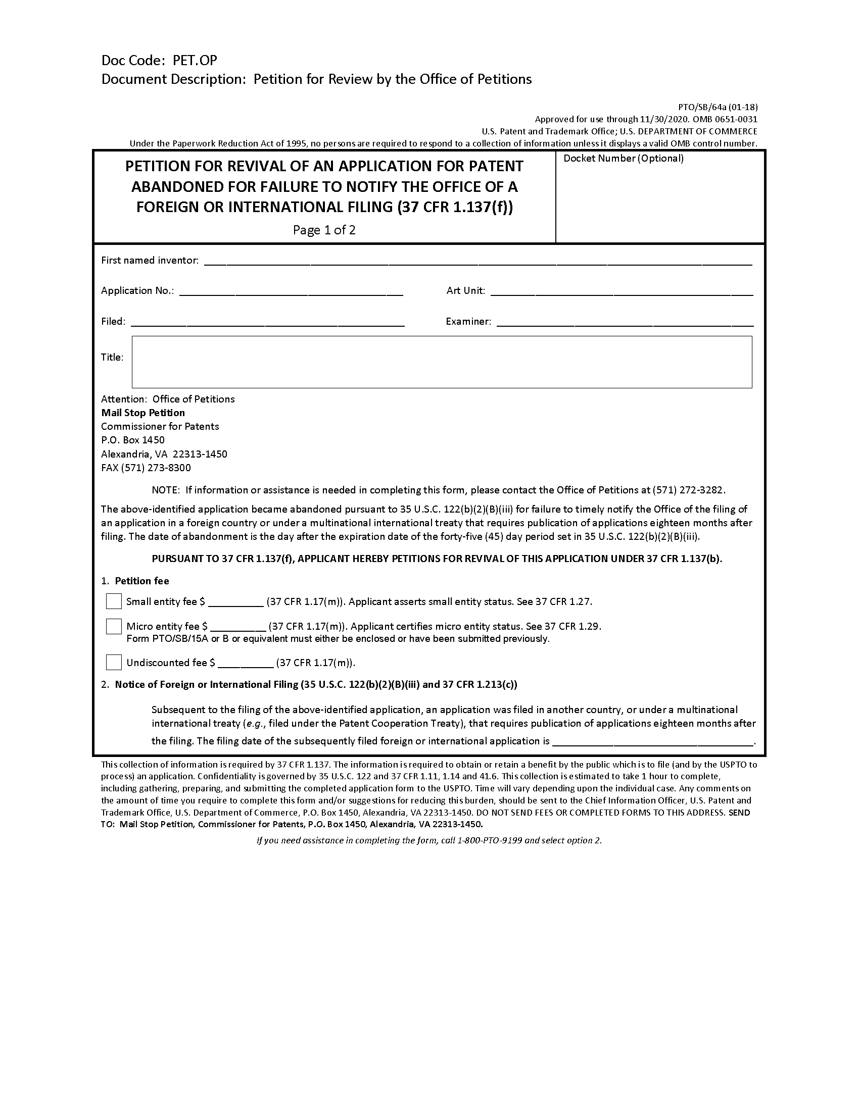 Sample Letter Request Fee Waiver