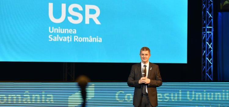 Congres USR: Dan Barna, candidatul USR la alegerile prezidențiale