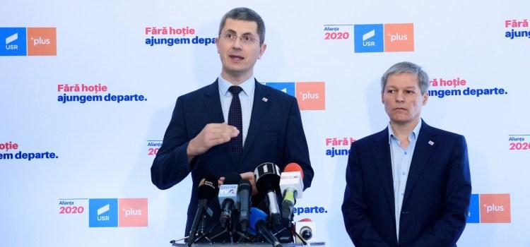 Alianța 2020 USR PLUS merge mai departe! Dan Barna – candidat la Președinție