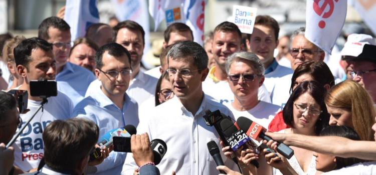 Start campaniei de semnături pentru Dan Barna, candidatul Alianței USR PLUS la Președinția României