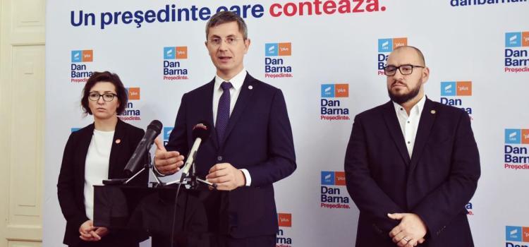 Dan Barna, la Oradea: Campania alegerilor prezidențiale este dovada că România se desparte de dinozaurul politic al ultimilor 30 de ani